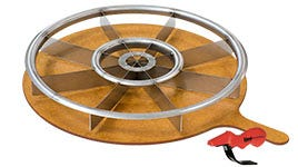 The Equalizer Pizza Cutter